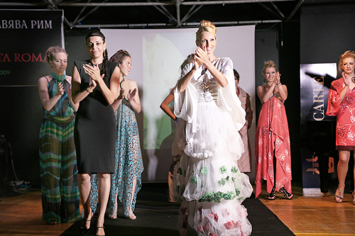 Bulgarian fashion in rome elegant provocation and perfect Rome fashion designers