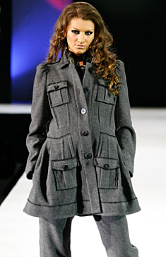 Models of fashion house Jeny Style with designer Evgenia Jivkova