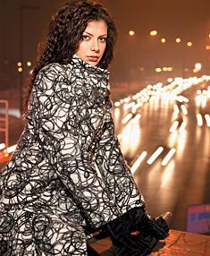 Model of fashion house Markam