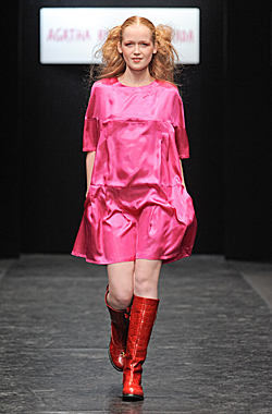 Collection of Agatha Ruiz de la Prada in the Russian Fashion Week