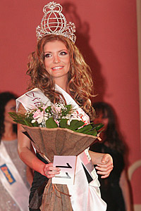The designer Alexandra Milusheva is Mrs. Bulgaria 2007