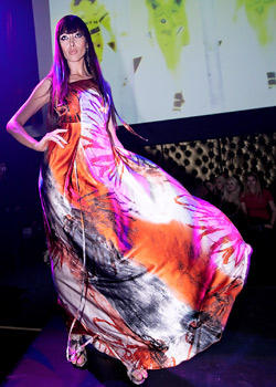 Bulgarian designers' fashion show in Vien on  Fashion TV