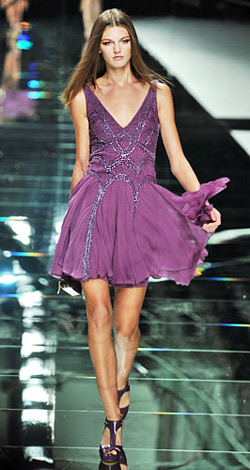 Colour the summer in violet