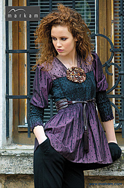 Designs by Markam fashion house, autumn-winter 2009-2010 collection.