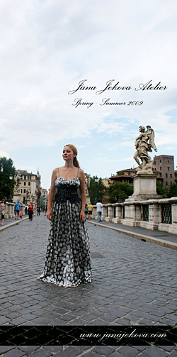 Jana Jekova Did A Photo Session In Rome