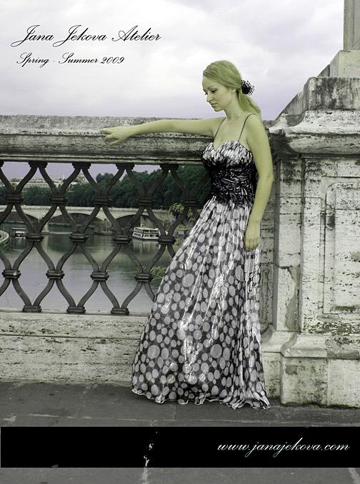 Jana Jekova Did A Photo Session In Rome