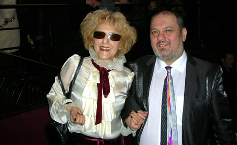 Lili Cherveniakova together with her son Kamen at the concert of Lili Ivanova in Olympia Hall
