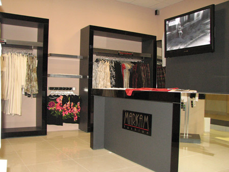 Markam Fashion opened its first franchising shop in Romania