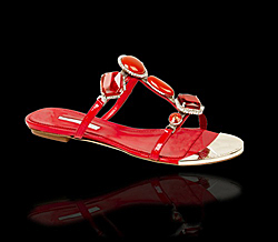 Lady's shoes collection from Marino Fabiani, summer 2009