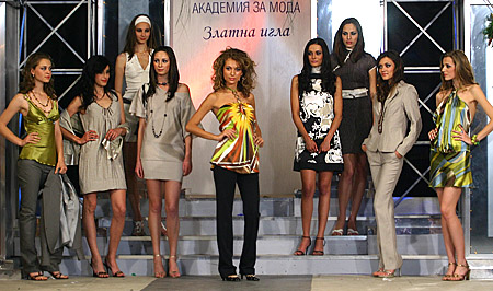 Models of ZEBRA Fashion house