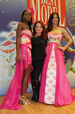 Atelier Simon was the official designer of the world contest Best Model of