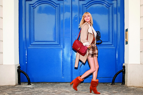 Anja Rubik is the face of the new MANGO catalogue
