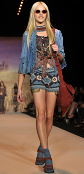 Ethnic diversity by Anna Sui