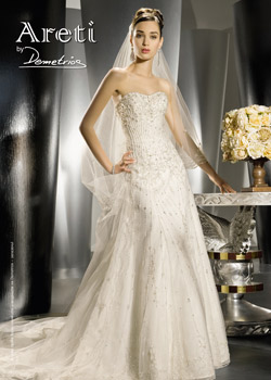 Modern and sensual bridal collection from Demetrios Brides