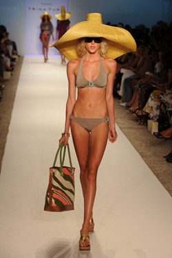 Mercedes-Benz fashion week Swim makes a splash