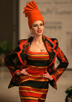 Attracive creactions at Belarus Fashion Week