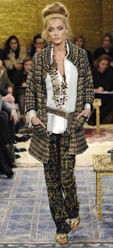 "Chanel presented the magnificent collection ""Paris Byzantium"""