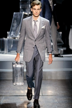 Dunhill Aluminum Luggage Collection - a clasic style and fashion design