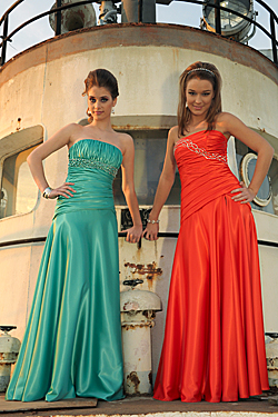 The newest fashion formal and prom dresses lines by Holiday Sona