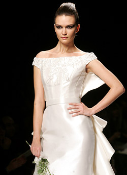 Brides and rebellions at the fashion podium in Rome