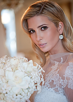 Ivanka Trump has become a married woman
