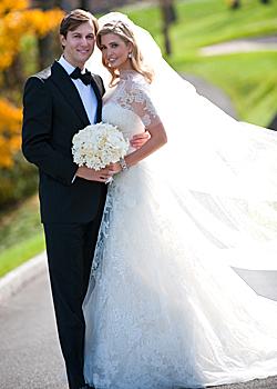 Ivanka Trump has become a married woman