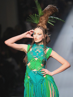 Paris Haute Couture Jan Paul Gaultier Spring 2010