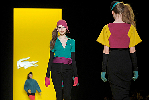 Lacoste – mood and color in New York