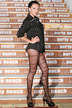 Pantyhose and stockings Magdalena – for your elegance