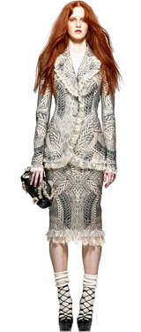 Alexander McQueen's Pre-Fall 2010 Collection