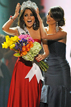 Miss Universe 2010 is from Mexico