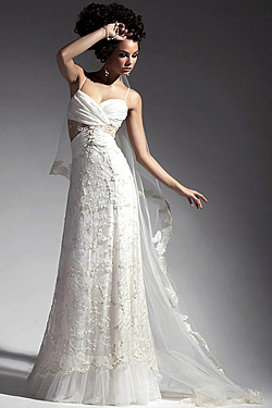 Collection of wedding dresses 2010 of Atelier Simon