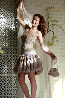 Prom dresses and evening dresses for Spring-Summer 2010 by Mon Amour