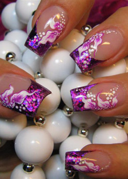gel nail art Strong Nails