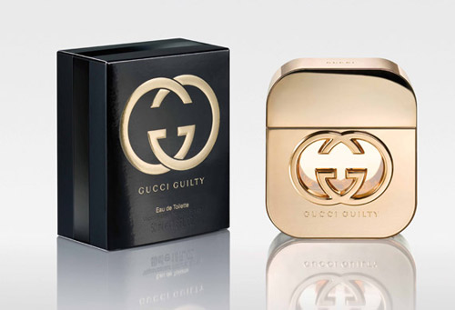 Feminine and provocative new fragrance from Gucci - Guilty