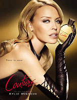 Kylie Minogue has launched her new fragrance