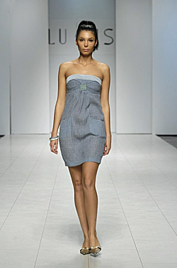 СUkrainean fashion week. Liudmila Kislenko spring - summer 2010