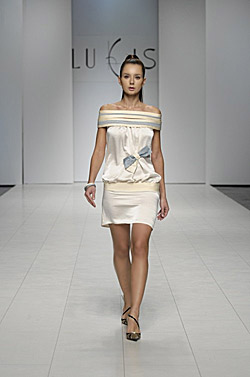 Ukrainean fashion week. Liudmila Kislenko spring - summer 2010
