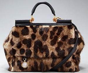 Леопардова чанта от Dolce & Gabbana