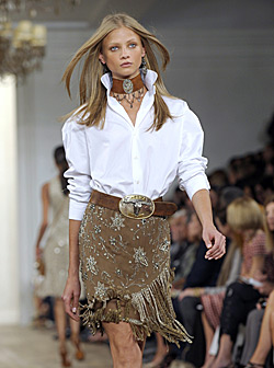 Ralph Lauren brings Wild West to NY Fashion Week