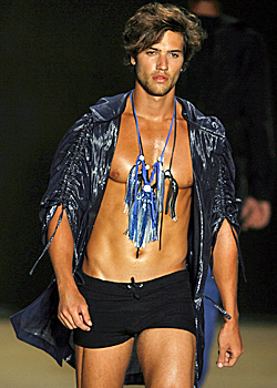 Revealing clothes at Rio Fashion Week