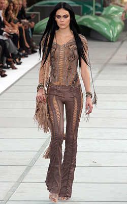 Spring/Summer 2011 fringe fashion trend