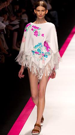 Spring/Summer 2011 fringe fashion trend