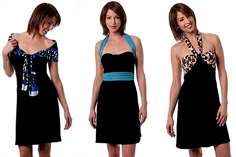One dress - multiple looks