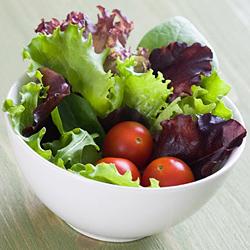 GREEN lettuce helps digestion