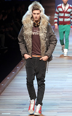 Milan fashion week 2011/2012: D&G men's Fall-Winter collection