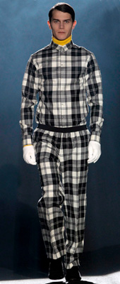 Fashion trends for Autumn-Winter 2011-2012 - the check
