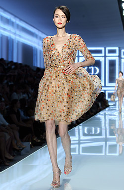 Christian Dior Back On Top At Paris Fashion Week With Collection Spring Summer 2012
