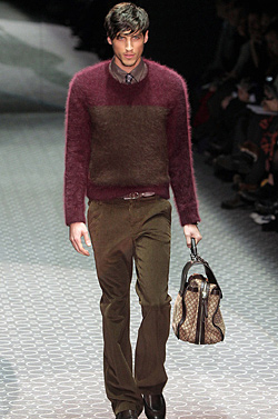 Spirit of the 70's in the Gucci Autumn-Winter 2011-2012 collection