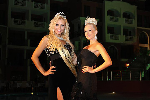 Mrs. European Union contest took place in St. Vlas, Bulgaria